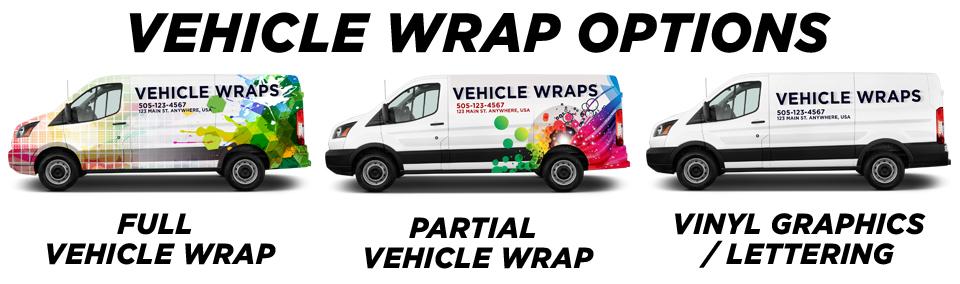 Long Island Vehicle Wraps vehicle wrap options